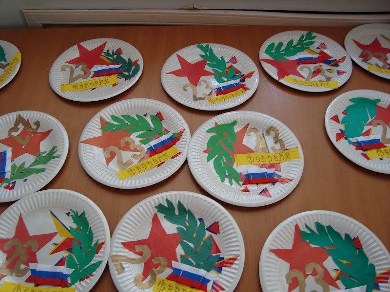 Детские поделки к 23 февраля в детских садах
